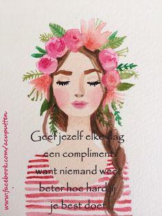 geef jezelf elke dag een compliment