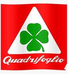 « Quadrifoglio Classic Alfa Romeo », Posters par AutomotiveArt | Redbubble