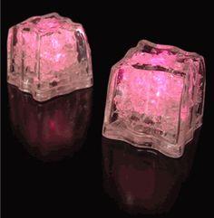 Ice Cubes Lights Premium LED   1.5 PInk 3- Mode  (8 ice cubes) $23.92 / $2.99 ea