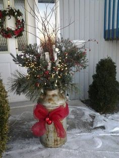 1000 ideas about decoration de noel exterieur on for Deco noel exterieur fabriquer