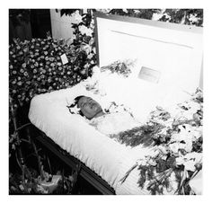 Funeral for Billie Holiday. (2/3) Her funeral mass was held at Church of St. Paul the Apostle in New York City.