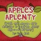 Tons of activities for your apple or Johnny Appleseed unit: math and literacy centers, graphic organizers, graphing, and more. Perfect for meeting CCSS :)