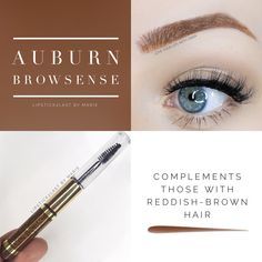 Auburn BrowSense Waterproof eyebrow filler.