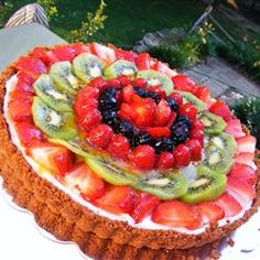 Since I didn't get a birthday cake, I may have to make myuself a fruit tart. Way better than cake anyway :)