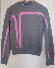 Sweatshirt Fila 8 Grey PinkMJ2719  fashion  clothing  shoes  accessories   womensclothing  activewear (ebay link) 1e936e5f334d