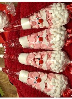 Christmas Fayre Ideas, Christmas Treat Bags, Christmas Tinsel, Diy Christmas Presents, Christmas Gift Baskets, Christmas Gifts For Friends, Christmas Activities, Christmas Wrapping, Christmas Inspiration
