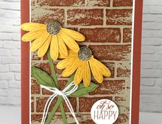 Tips For Stamping With the Daisy Delight Stamp Set