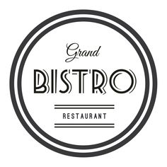 TYPOGRAPHY - Grand Bistro