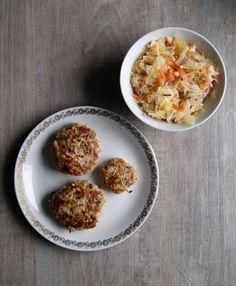 Zdrowa Kuchnia Sowy: Kotlety mielone z pieczarkami i jabłkiem