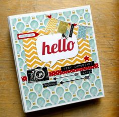 Freundebuch mit dem #dpJulikit13 von Britta Häusler für www.danipeuss.de