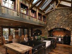 cozy rustic bunkhouse getaway in northern wisconsin. Black Bedroom Furniture Sets. Home Design Ideas