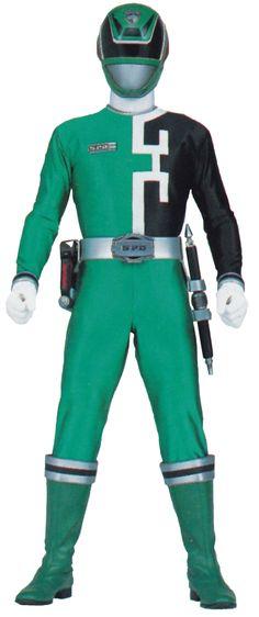 Green SPD Ranger