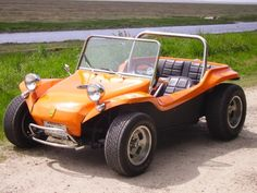 This was my absolute first car, a Meyers Manx, that I built with my college roommate from an old VW Bug.