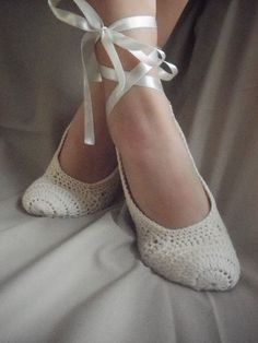 Cute idea :)  Bridal wedding dance shoes slippers cream Bridal Party Bridesmaid