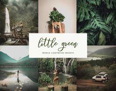 Little Green 6 Mobile & Desktop Lightroom Presets, Green Preset, Instagram Filters, Mobile Presets, Influencer Preset, Travel filters, DNG