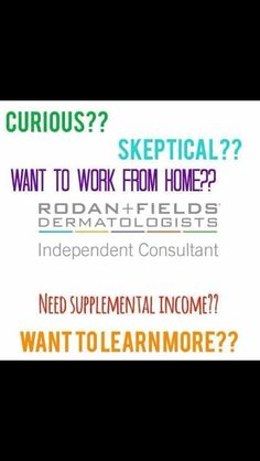 Get in touch with me about this life changing business and its amazing products!!   https://sdolinsky.myrandf.com