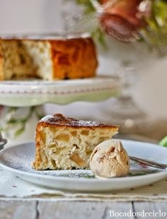 Sharlotka, tarta de manzana rusa