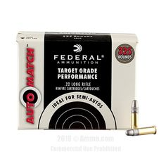 Federal AutoMatch 22 LR Ammo - 3250 Rounds of 40 Grain LRN Ammunition #22LR #22LRAmmo #Federal #FederalAmmo #Federal22LR #LRN #FederalAutoMatch