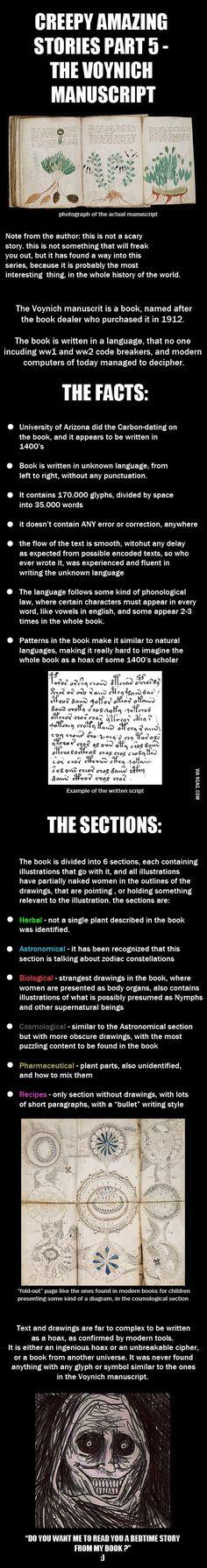 Amazing Stories - Voynich Manusript