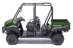 """New 2017 Kawasaki Muleâ""""¢ 4010 Trans4x4® ATVs For Sale in Illinois. The Muleâ""""¢ 4010 Trans4x4® Side x Side is a versatile mid-size two to four-passenger workhorse that's capable of both putting in a hard day of work as well as touring around the property. 617 cc fuel-injected, V-twin engine produces reliable performance Convertible design lets you easily change from a four-seat crew mover to a two-seat cargo hauler, without the need for tools Selectable 2WD or 4WD with dual-mode rear…"""