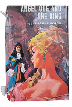"""""""Angelique and the King"""" foreign edition, by Sergeanne Golon."""