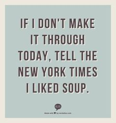 *loved* soup
