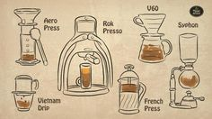 manual brewing coffee - Google Search