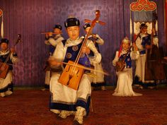 Music- One of the popular and traditional instruments in Mongolia is the morin kur (horse-headed fiddle), which is similar to a cello. Besides the traditional music, western classical music and ballet are very popular. modern music in Mongolia includes western pop and rock. There are also songs that are written by modern authors in the form of folk songs.