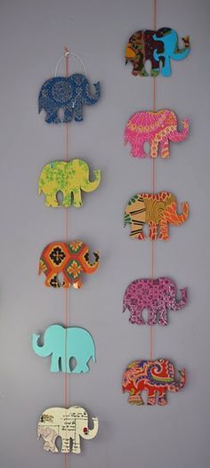DIY elephant for Chun Diy And Crafts, Crafts For Kids, Arts And Crafts, Paper Crafts, Craft Projects, Projects To Try, Diy Y Manualidades, Ideias Diy, Diy Art