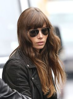 Jessica Biel, hair and style _