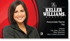 Keller Williams Real Estate Business Cards