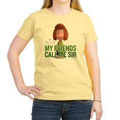 Peppermint Patty - Call Me S T-Shirt on CafePress.com