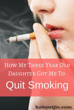 How My Three Year Old Daughter Got Me To Quit Smoking After smoking for 22 years the end finally came after a few sad moments with my 3 year old where I realized I was putting my smoking addiction over her needs. Smoking Addiction, Nicotine Addiction, Smoking Cessation, Mental Health Issues, Happy Mom, Marriage Relationship, Addiction Recovery, Three Year Olds