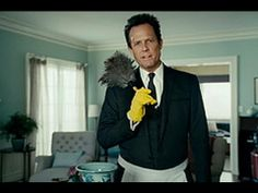 Allstate Mayhem Commercials: Cleaning Lady