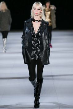 Saint Laurent Fall 2014 Ready-to-Wear Fashion Show - Lili Sumner (NEXT)