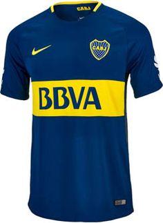 2017/18 Nike Boca Juniors Home Jersey. Get yours from www.soccerpro.