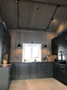 House Ideas, Kitchen Cabinets, House Design, Doors, Rustic, Interior, Cottages, Inspiration, Houses