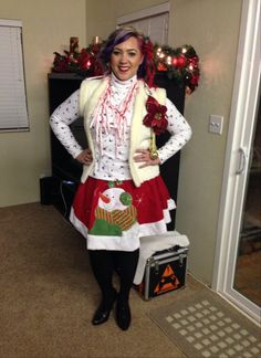 Ugly Christmas Sweater Party Ugly Christmas Sweater, Party Ideas, Fashion, Moda, Fashion Styles, Ideas Party, Fasion