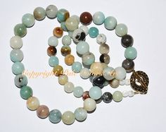 Amazonite Gemstone Necklace 24 Inch Necklace Amazonite Stone