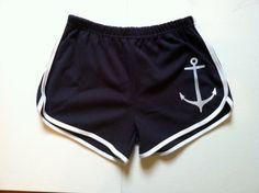 Anchors Away short shorts S M L ($20.00) - Svpply