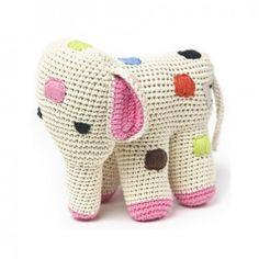 gehaakte olifant van Anne Claire Petit