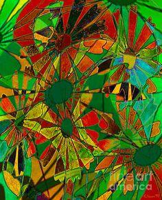 'Blooming Splendor'    http://catherine-harms.artistwebsites.com/    http://www.facebook.com/AbstractDigitalArtwork