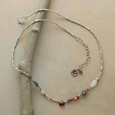 GARNETS AND MORE NECKLACE: View 2