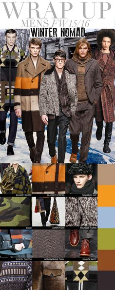 TREND COUNCIL FW 2015- WINTER NOMAD