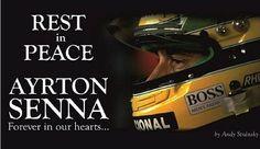 Ayrton Senna Tribute rip 20 yrs 2014