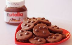 Como fazer cookies de nutella - Receitas