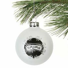 San Antonio Spurs 3 1/4'' Large Ornament