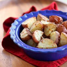 Ranch roasted red potatoes. A quick and easy side dish packed with flavor that takes less than 5 minute to prep