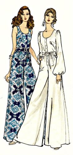 1970s Vintage Sewing Pattern Vogue 7840 American by sandritocat, $28.00
