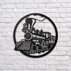Train - Metal Poster www.northshire.net #wall #metal #sign #decor #decoration #interior #interiors #minimal #quote #gift #walldecor #idea #ideas #home #homedecor #train